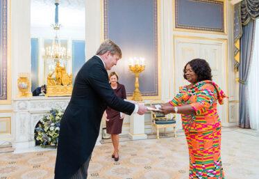 Ghana's Ambassador to the Kingdom of the Netherlands