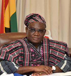 The Ambassador of Ghana to The Netherlands